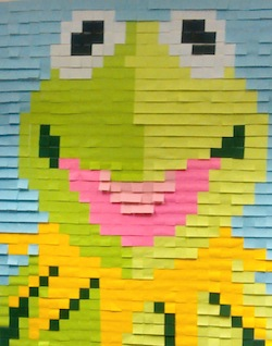 post it art how we threw a frog to the wall meltwater engineering blog. Black Bedroom Furniture Sets. Home Design Ideas
